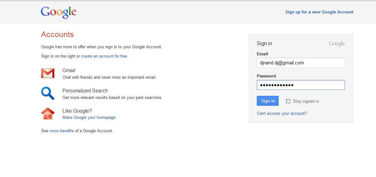 Akhirnya google memperkenalkan halaman sign in barunya Google sites sign in