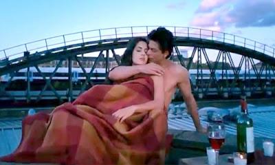 Jab Tak Hai Jaan Movies 2012 Shahrukh Khan and Katrina Kaif Hot Wallpapers