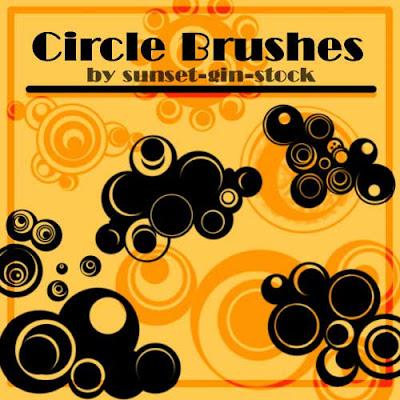 brushes circulares photoshop