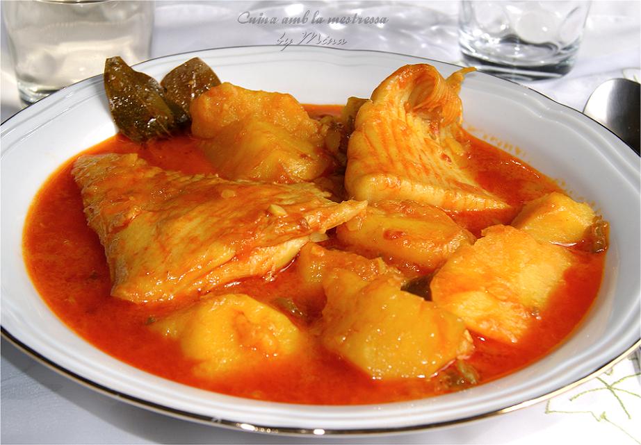 Guiso de raya con patatas for Cocinar raya a la gallega