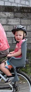 biking with baby