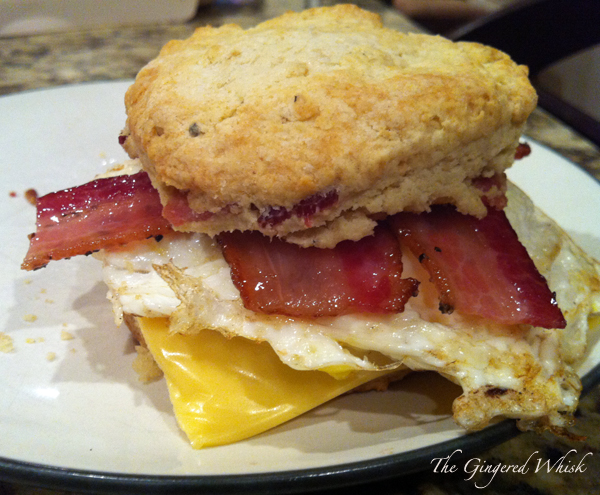 Brown Sugar Bacon Biscuits ( Joy the Baker )