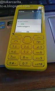 Setting APN Nokia 206