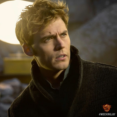 Sam Claflin in The Hunger Games Mockingjay Part 1