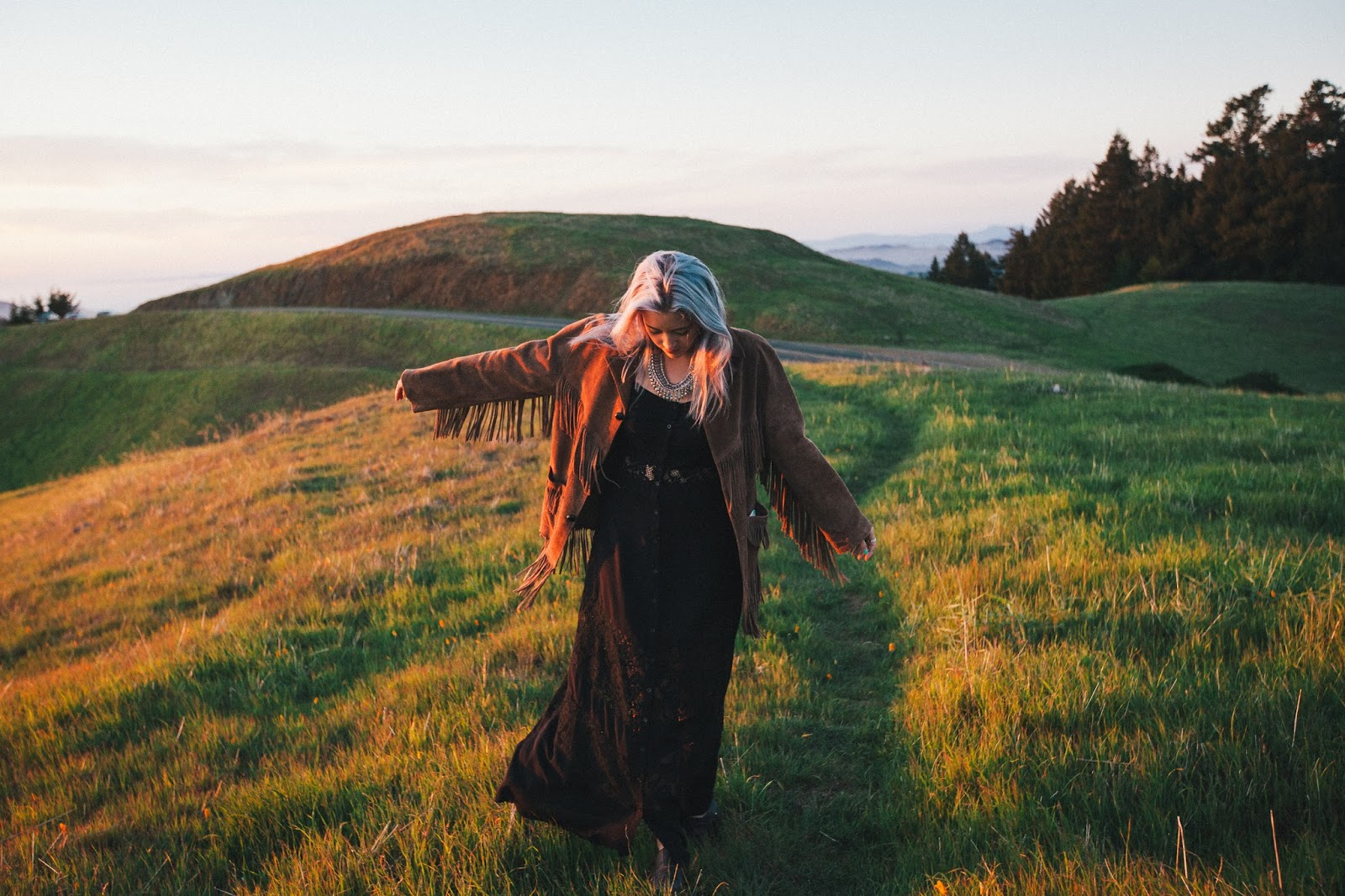 Marin Headlands on Mt.Tam Festival Fashion Style by Blogger Bryn Newman