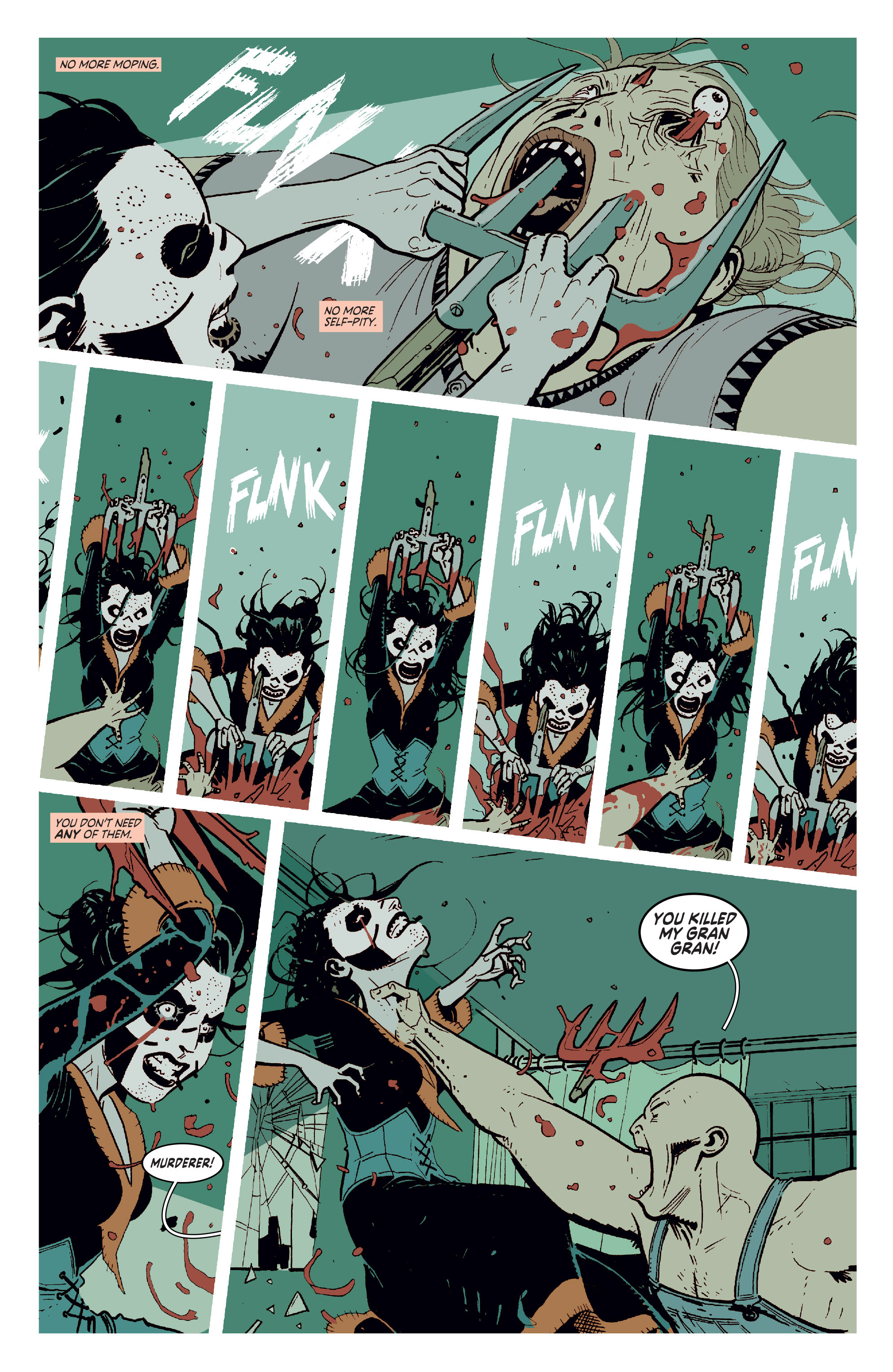Read online Deadly Class comic -  Issue #11 - 12