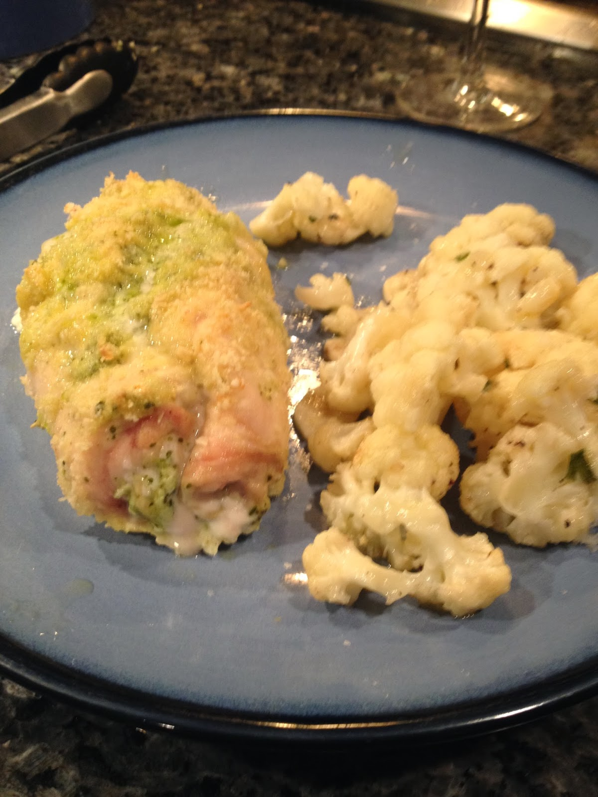 50 Shades of Eating: Baked Chicken Stuffed with Pesto and ...