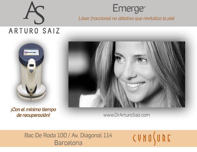 Sara-Abilleira-laser-emerge-cynosure-clinica-dr-arturo-saiz-barcelona