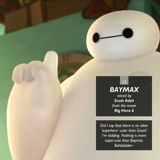 Baymax from Big Hero 6
