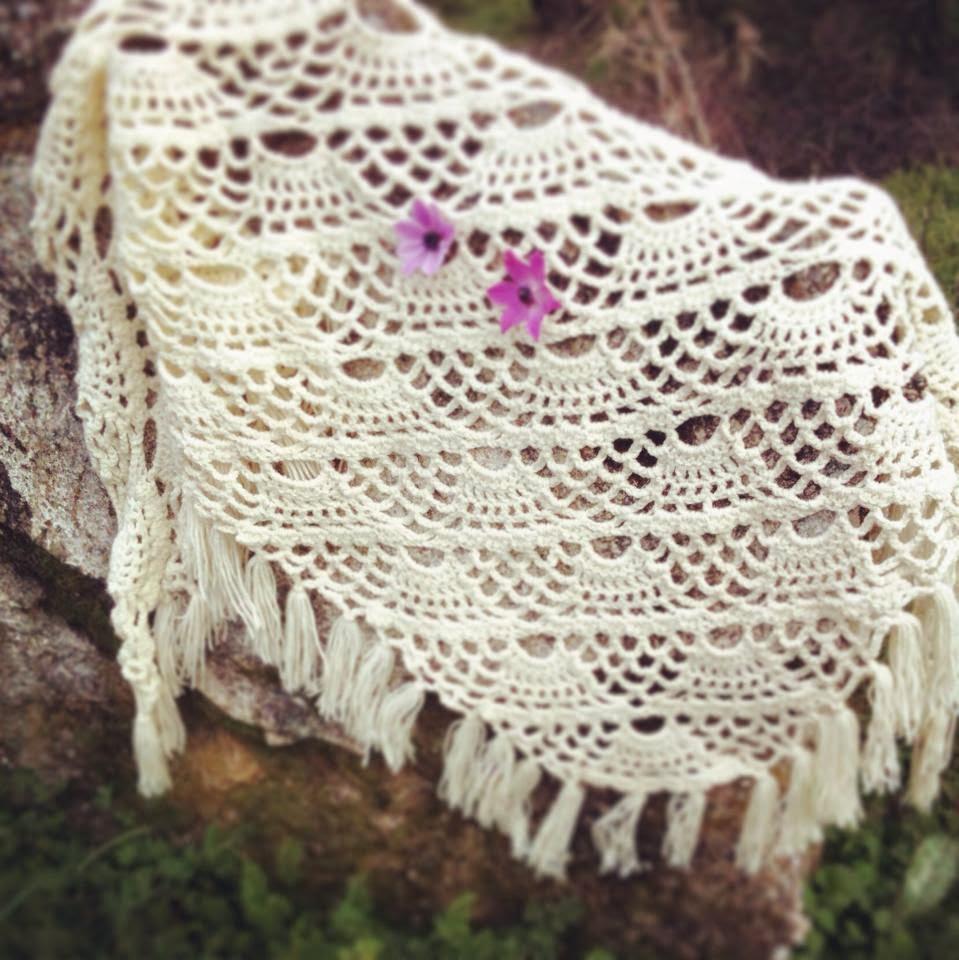 Crochet shawl!