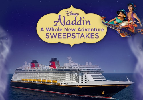 Disney Aladdin A Whole New Adventure Sweepstakes
