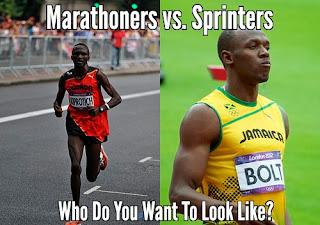 marathoner vs sprinters