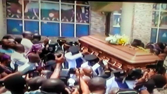 First Photos From Late Prof. Dora Akunyili's Burial