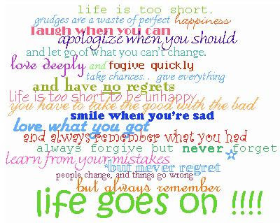 life quotes for myspace