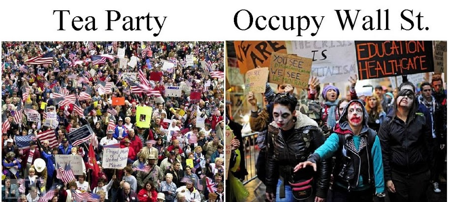 Tea Party Patriots vs OWS