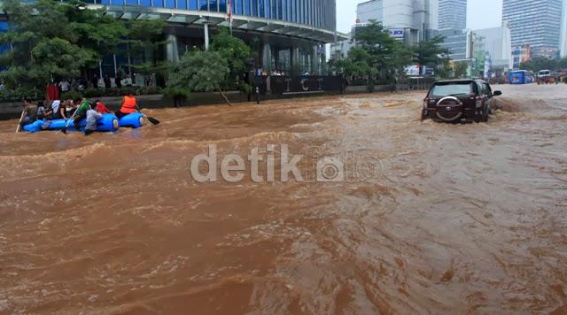 rush jajal banjir