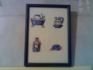 Laboratorio di zia polly quadretto a punto croce e - Mia suocera in bagno ...