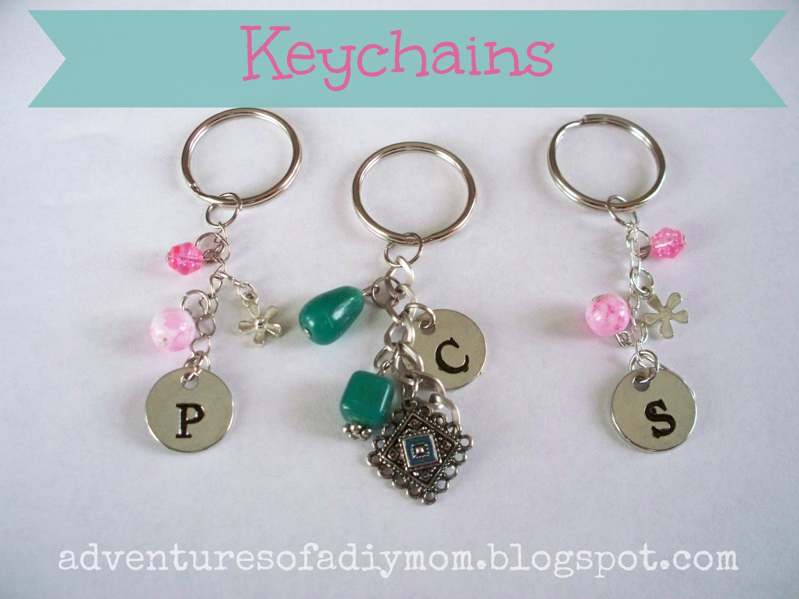 How to Make Your Own Keychains - Adventures of a DIY Mom