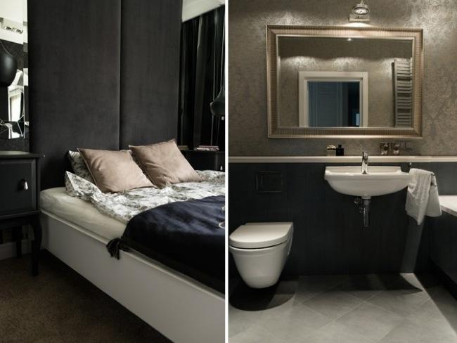 Minimalismo y colores oscuros mobiliario minimalista - Mobiliario minimalista ...