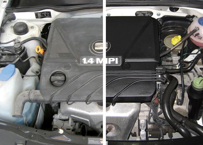 Mec nica virtual trucos para limpiar el motor del auto en for Como lavar el motor de un carro