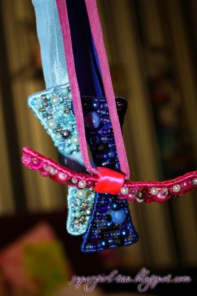 повязки с бантиками для девочек