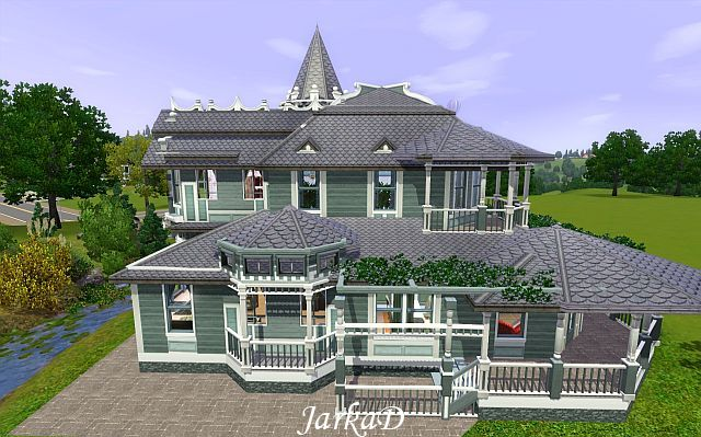 my sims 3 blog: victorian house no.15jarkad