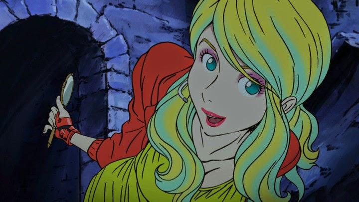 Rebecca Rossellini nuova serie Lupin III