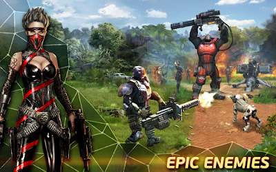 Evolution: Battle for Utopia v3.2.3 MOD APK+DATA