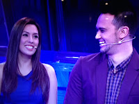 Nikki Gil and Billy Crawford on Deal or No deal