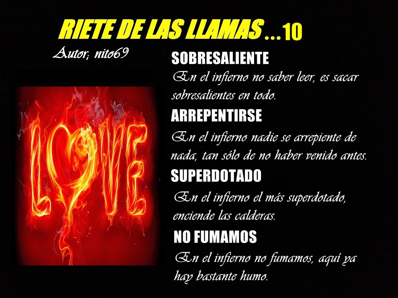 RIETE DE LAS LLAMAS…10