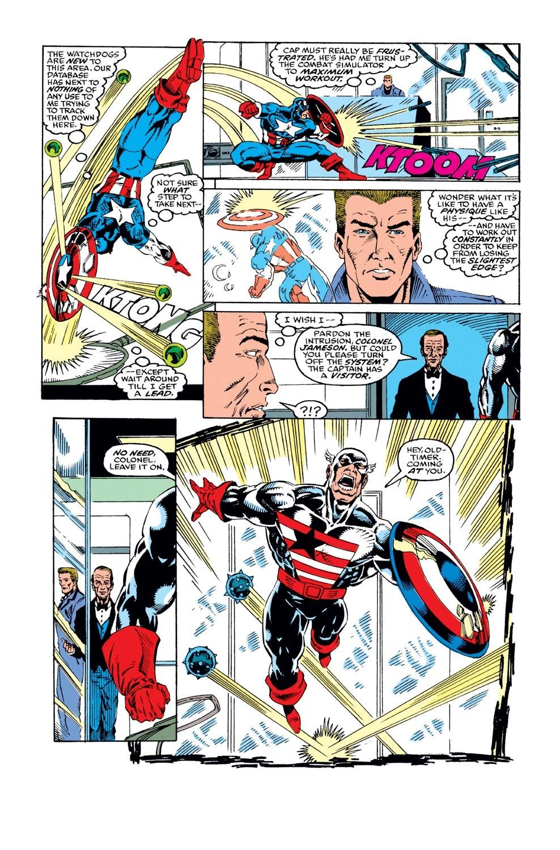 Captain America (1968) Issue #386 #319 - English 5