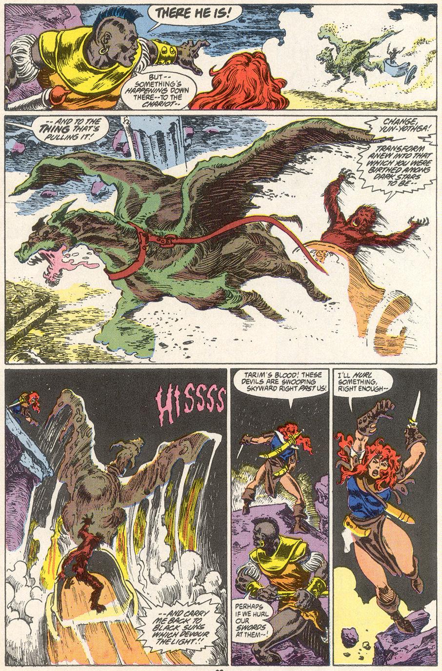 Conan the Barbarian (1970) Issue #249 #261 - English 17