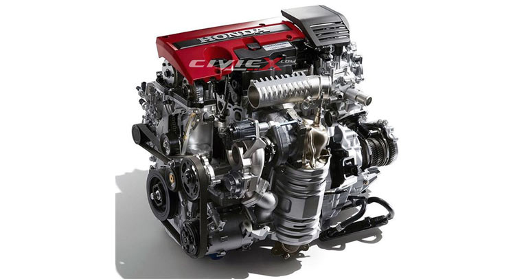 image surfaces showing next gen honda civic type r engine. Black Bedroom Furniture Sets. Home Design Ideas