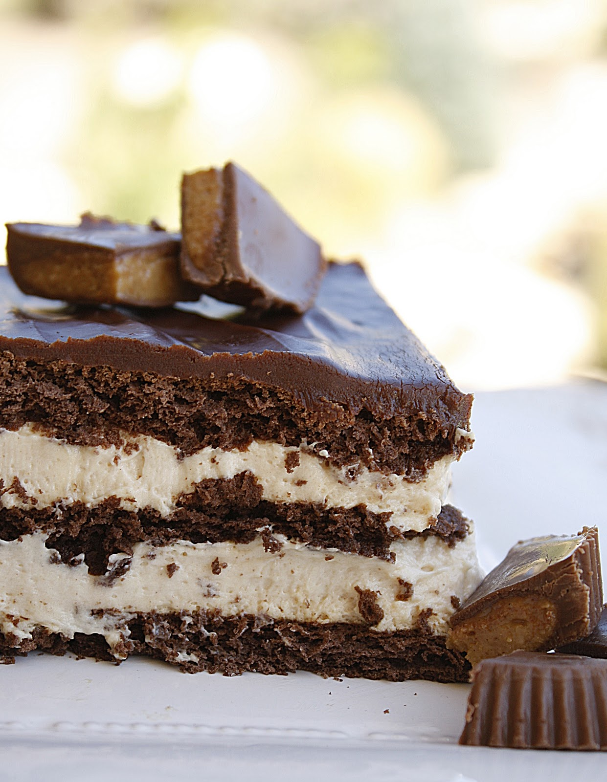 Chocolate Peanut Butter Eclair Cake Pinterest