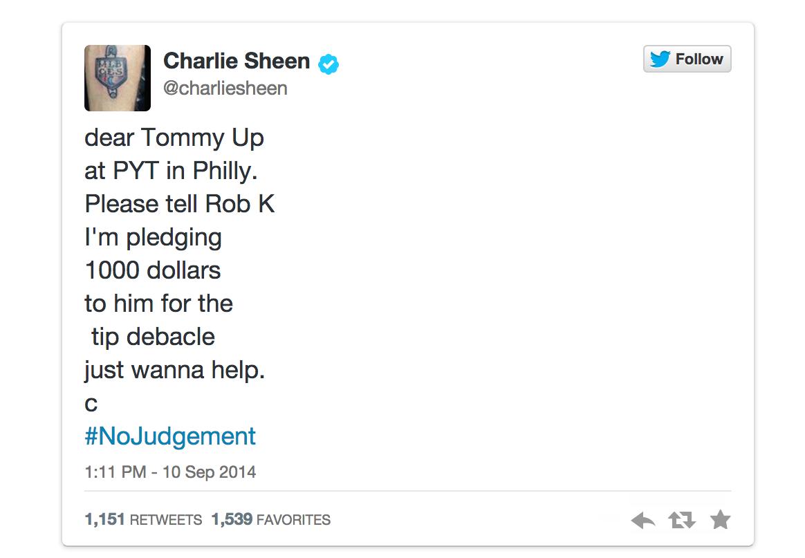 charlie sheen, lesean mccoy