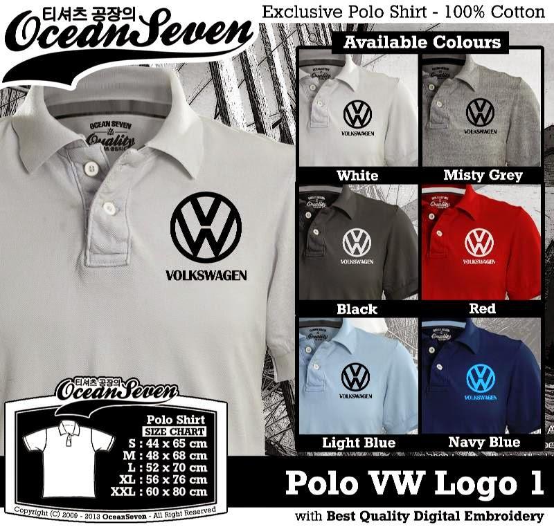 Kaos Polo Polo VW Logo 1