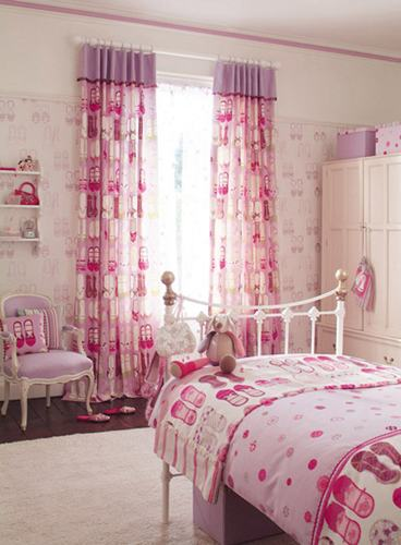 2013 Girls\' Room Curtains Design Ideas - Finishing Touch Interiors
