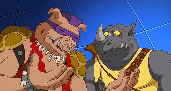 Bebop y Rocksteady Ninja Turtles 2