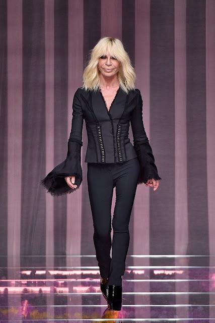 Inverno 2016 - Versace Alta Costura na Semana de Moda de Paris