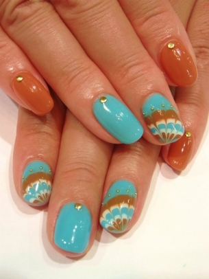 Chic-and-Easy-Fall-2012-Nail-Art-Designs-2