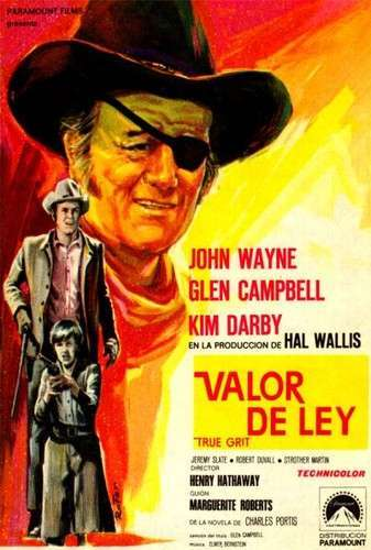Valor de ley (True Grit) (1969) [BRrip 1080p] [Latino] [MG]