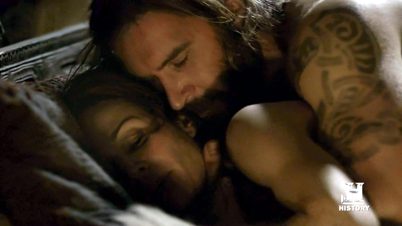 Theme Vikings tv show nude scene have