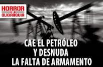 Cae el petróleo y desnuda la falta de armamento Por: Toby Valderrama y Antonio Aponte