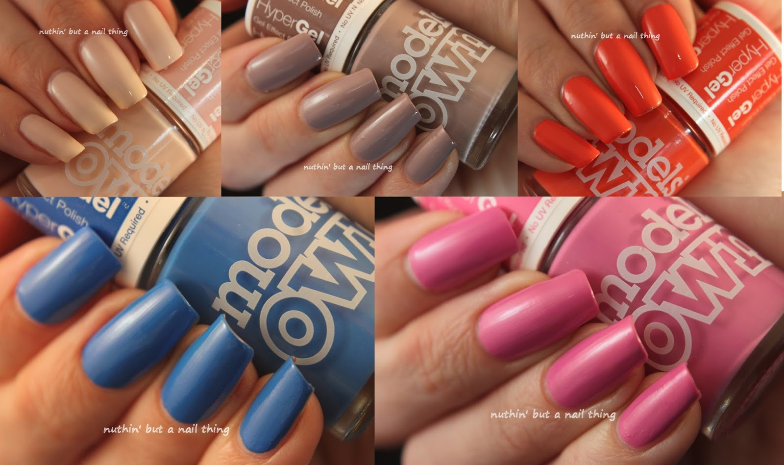 Models Own Hypergel Collection New Colours