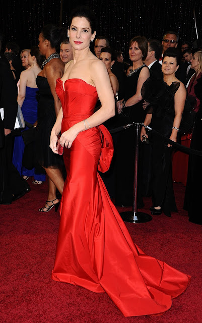 Sandra Bullock on 83rd Annual Academy Awards Red Carpet