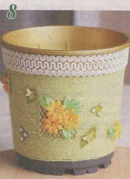 Como decorar una maceta lodijoella for Cosas decorativas para el hogar