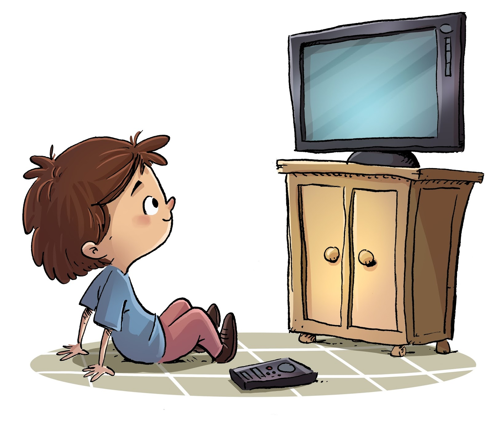 me watch tv can you imagine a day without watching tv reading