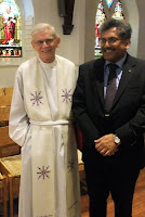 Pr. Swanson and Dean Sebastian