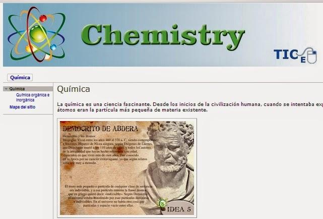 Chemistry Web Page