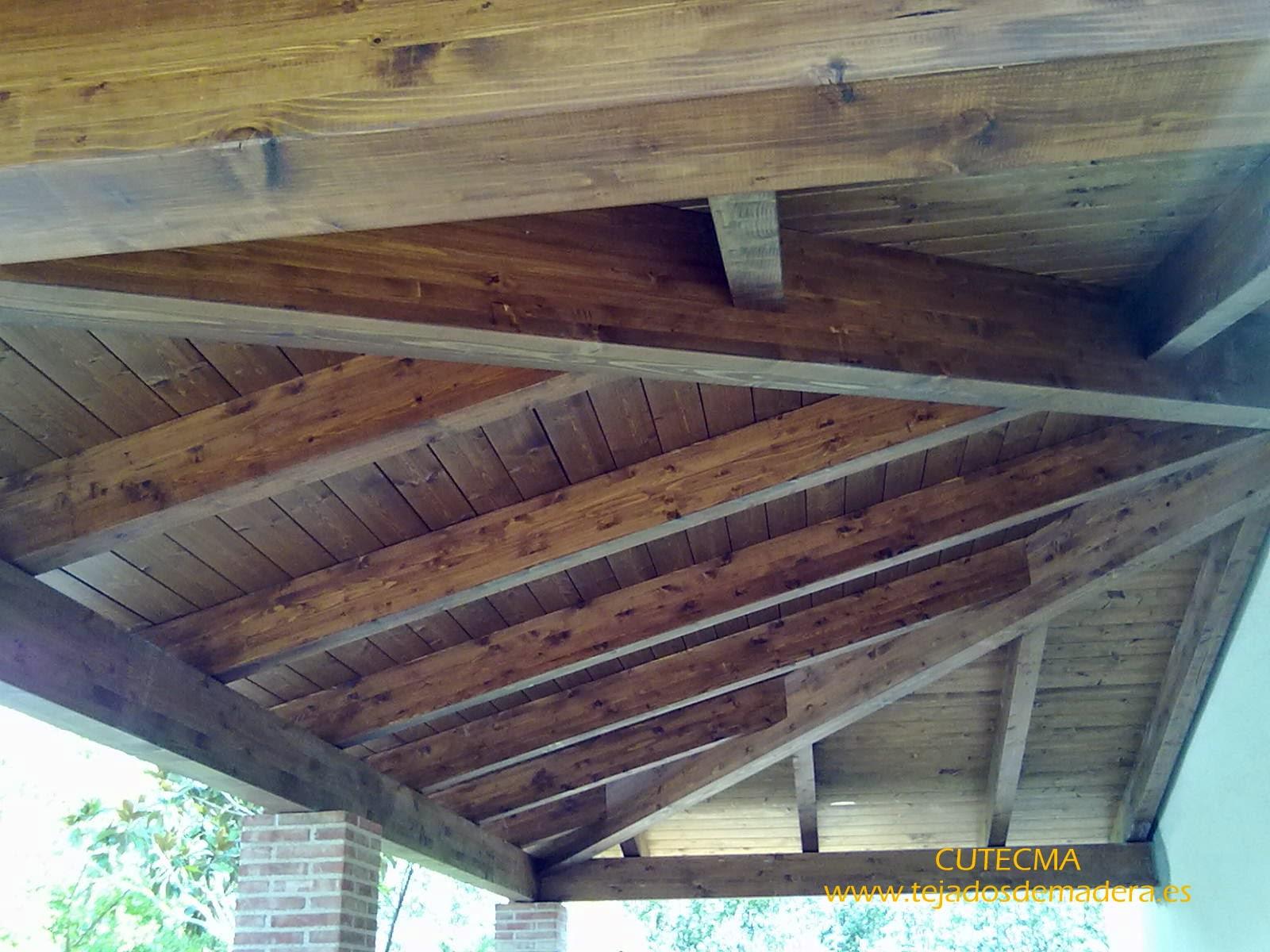 Estructuras de madera cutecma porches de madera el - Porches de madera cerrados ...
